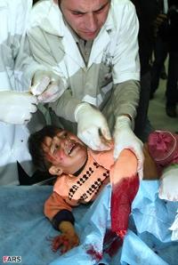 کودک مظلوم، بی گناه و بی دفاع فلسطینی در نوار غزه --- یا اباصالح پس کی می آیی؟